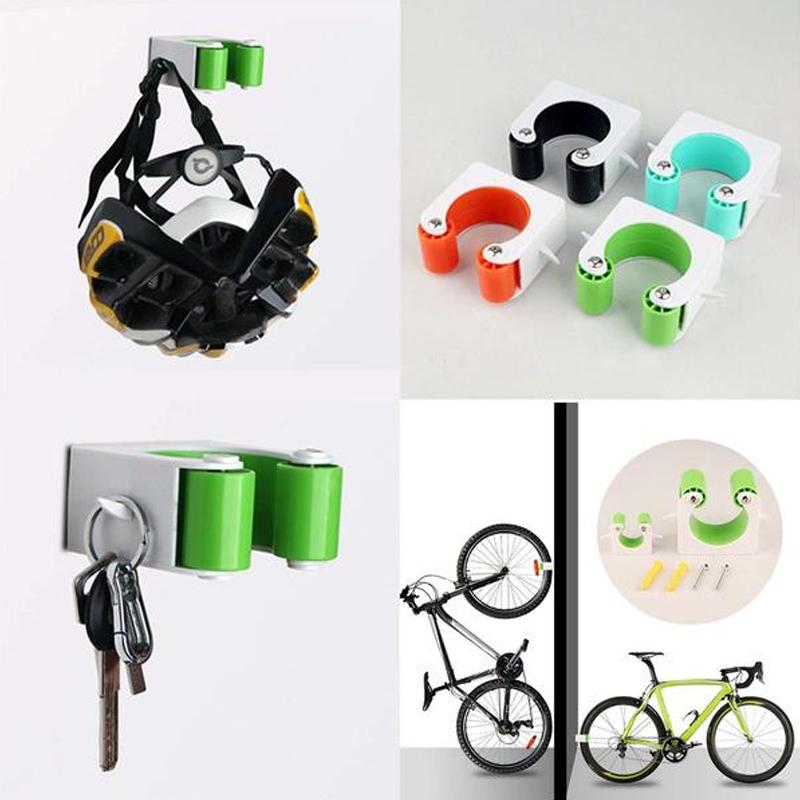 Bicycle Wall Mount Hook Mini Wall Hanger Stand Rack Parking Buckle Road MTB CA