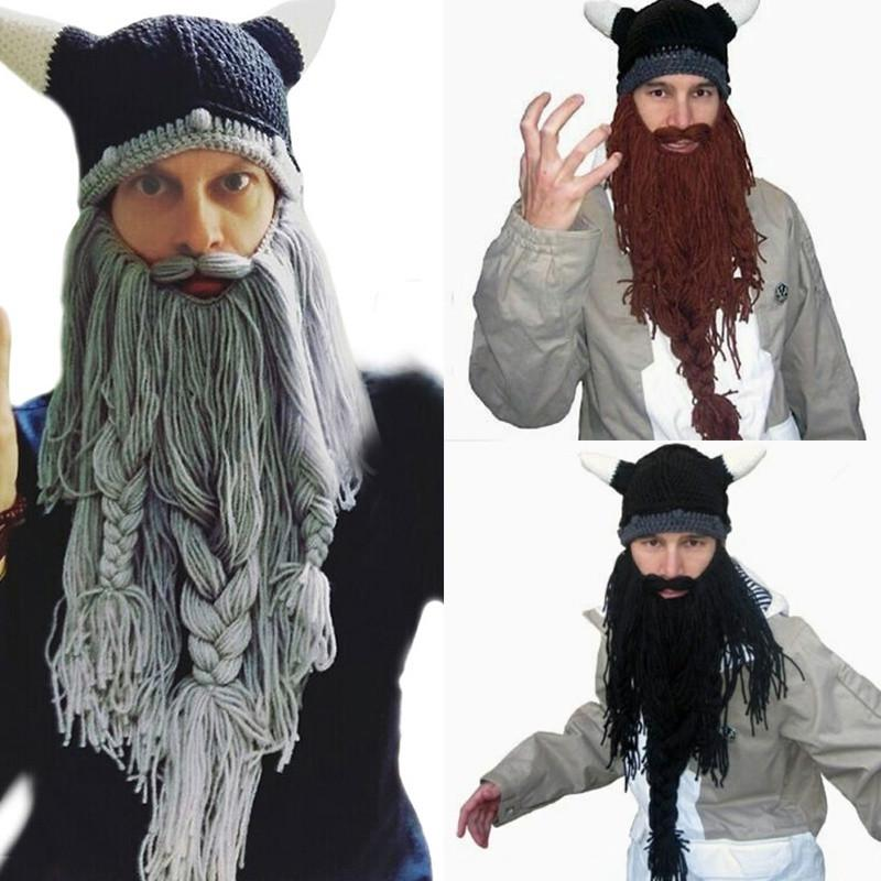dc5e0eae High Quality Funny Gag Halloween Cap Face Masks Handmade Winter Warm  Birthday Barbarian Vagabond