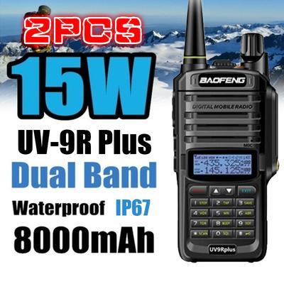 2 pcs G-Sharp Earhanger Earphone PTT for Baofeng UV-5RD UV-5RE BF-320
