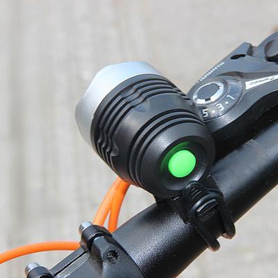 6 LED Bicycle Front Flashlight Lamp Bike Handlebar Head Light For Safety Warning