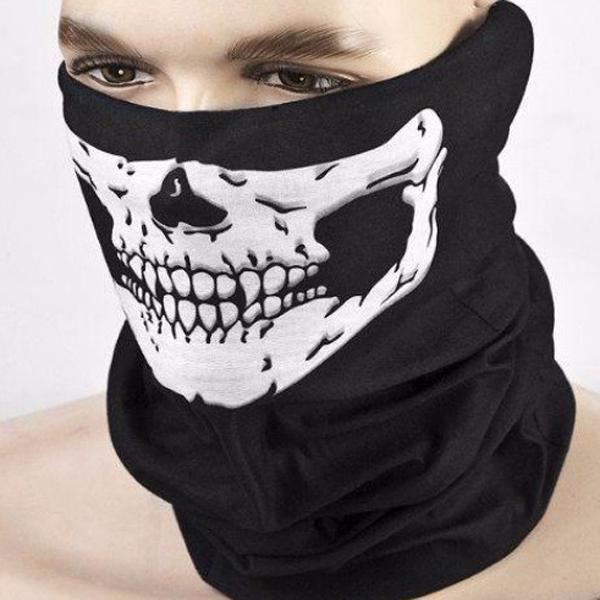 Cycling Motorcycle Head Scarf Neck Dustproof Face Cover Ski Balaclava Headband