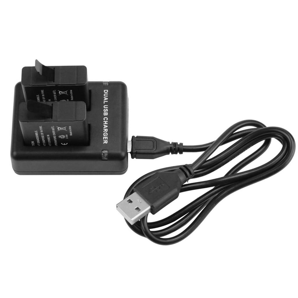 Electronics Usb Battery Charger With Dual Charging Slots Cable Desktop Lf 1 Of 7