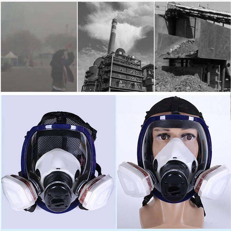 For 6800 Mask Full Face Facepiece Painting Spraying Protective Mask