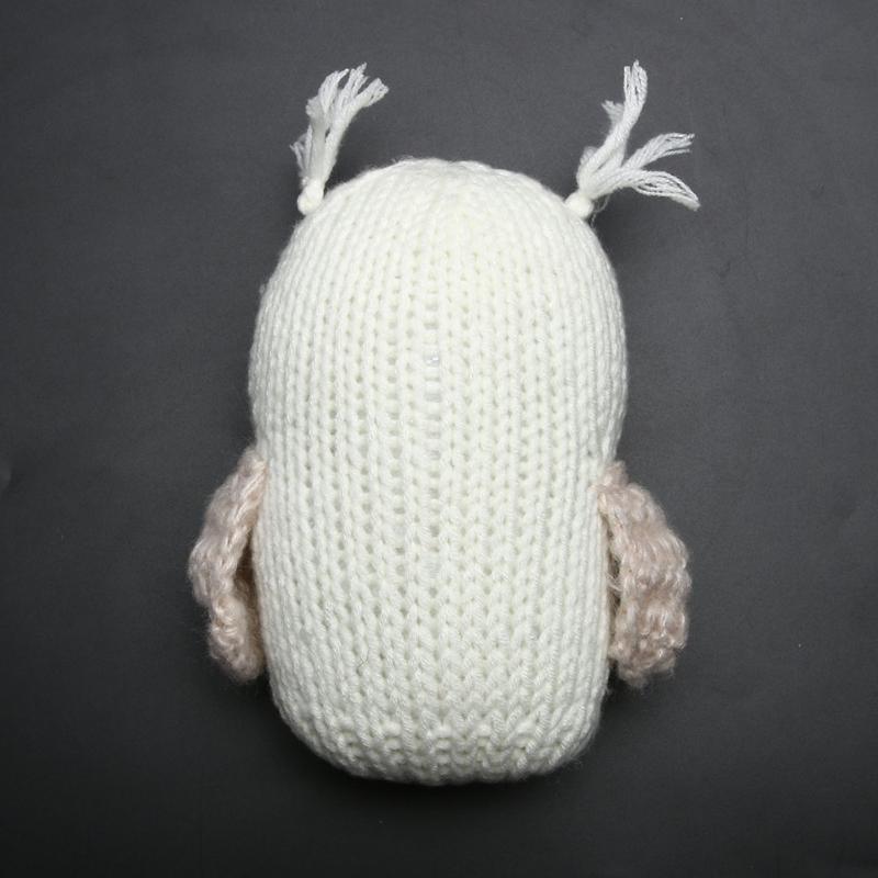 Bebé Crochet recién nacido blanco tejer muñecas y accesorios de ...