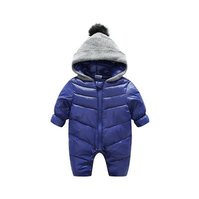 0028dd76241 Bebé Pelele Unisex Outerwer niños caliente pato mono con capucha bebé  espesa Buki