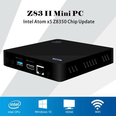Z83II Mini PC Intel Atom x5-Z8350 Quad Core Windows 10 64bit 2 4G +