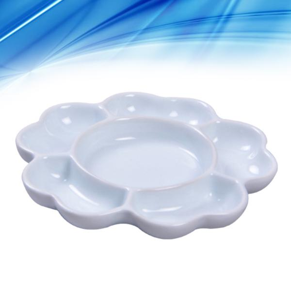 6pcs Plastic Paint Tray Palettes for DIY Craft Professional Art Painting