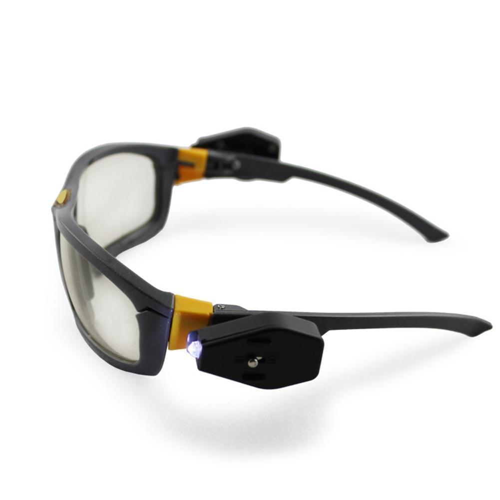 LED Brille Beleuchtung Brillen Abend Reiten Super helle Brille ...