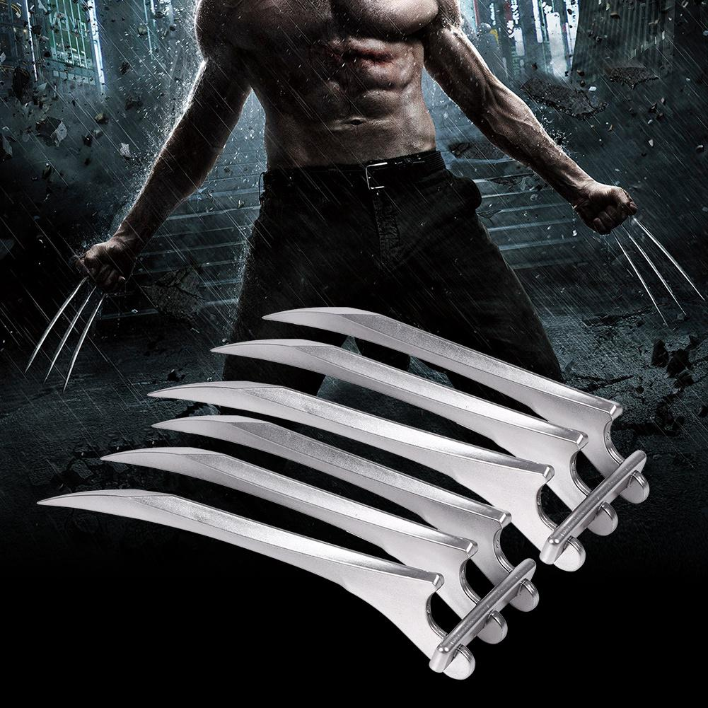 Wolf Wolverine Claws Plastic Toys /& Wolverine Mask Cosplay Props Halloween Gift