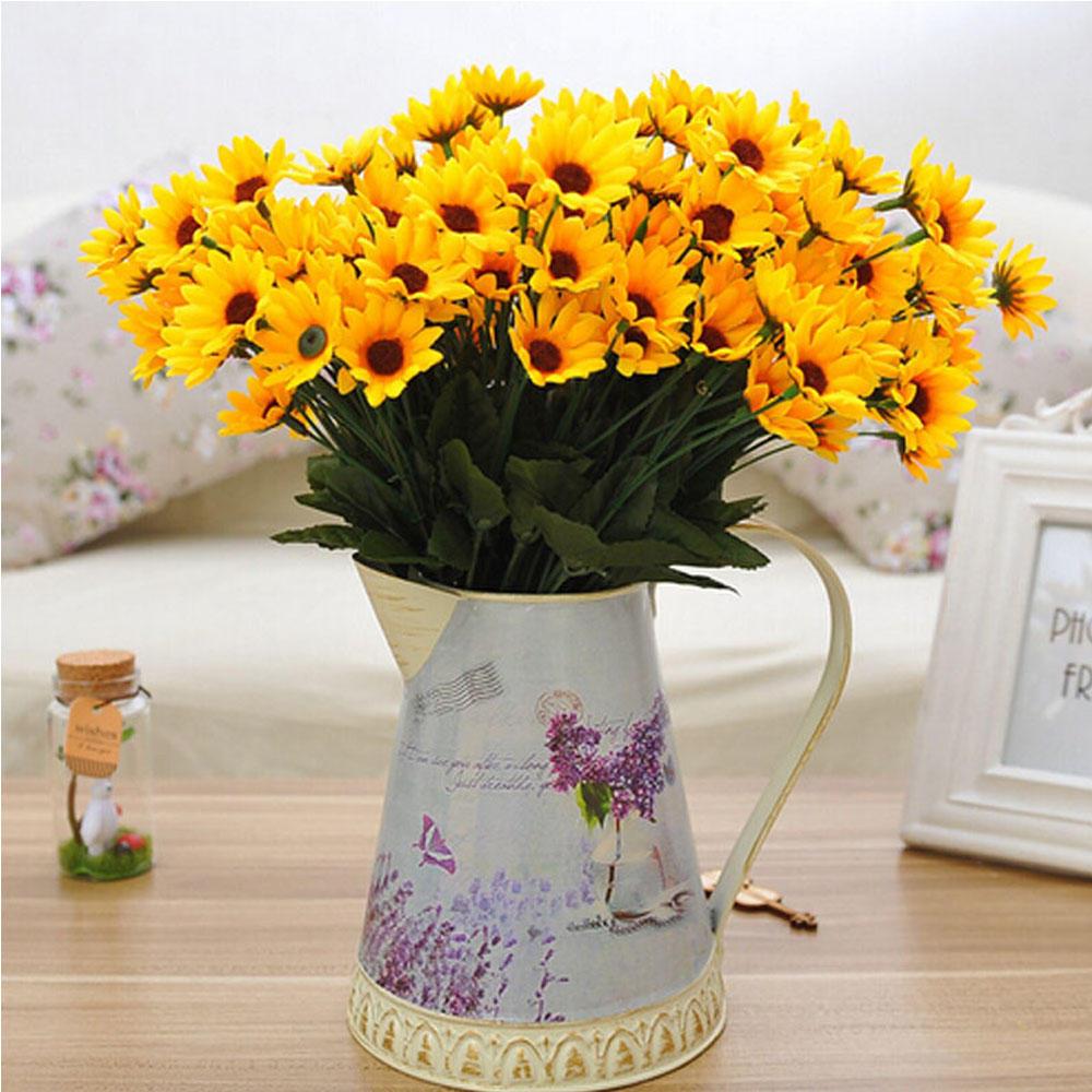 Masa Decor Floral Fals Floarea Soarelui Nunta Home Garden Decor