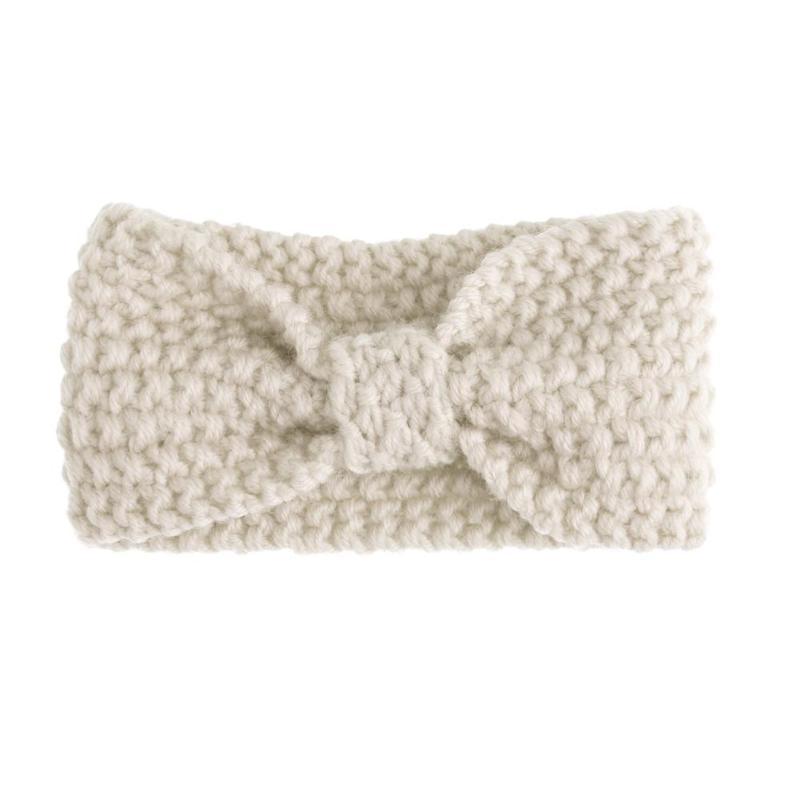 Invierno de punto diadema para mujeres Crochet arco estiramiento ...