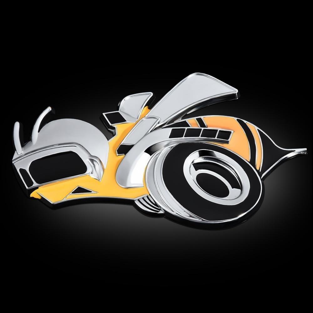 Car Super Bee Aolly HEMI SRT Scat Set Challenger Charger Grille Emblem Badge