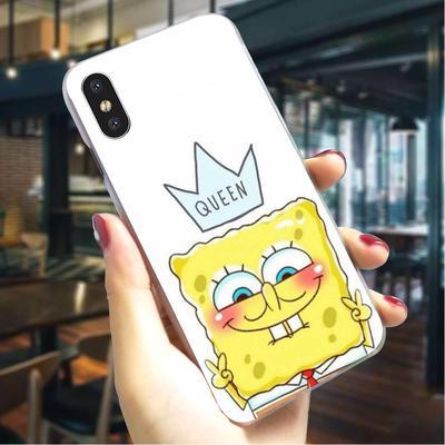 SpongeBob SquarePants Glass Phone Case for iPhone 8 Plus