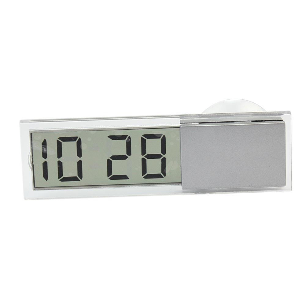 Car Dashboard Windshield Sucker LCD Display Digital Clock with Date Function
