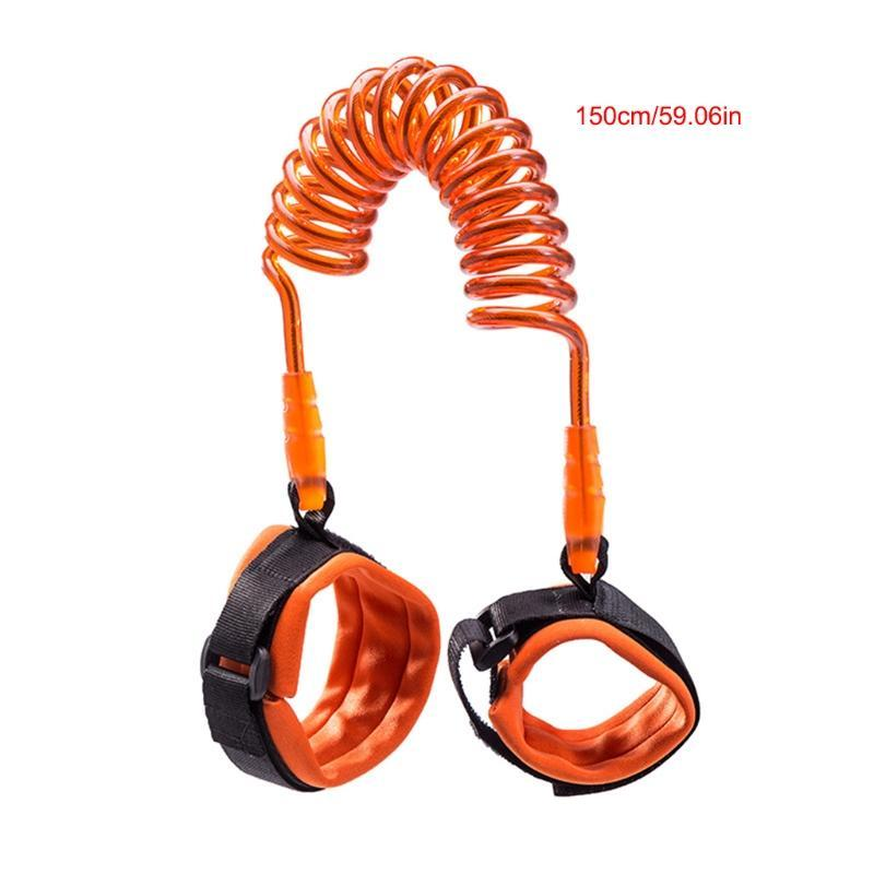 2M- 3 Pack Cotton Toddler Walking Assistant Child Safety Traction Rope Summer Anti-lost Wristband Belt Safety Harness Outdoor Backpack Leash