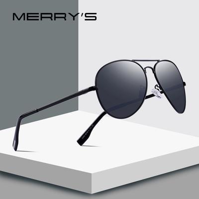 941559b9a4 FELIZ los hombres HD polarizado gafas de sol de piloto para hombre clásico  conduce la protección