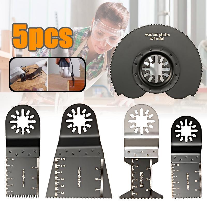 5PCS For Makita Fein Bosch Multimaster Oscillating Saw Tool Multi Blades F2M7