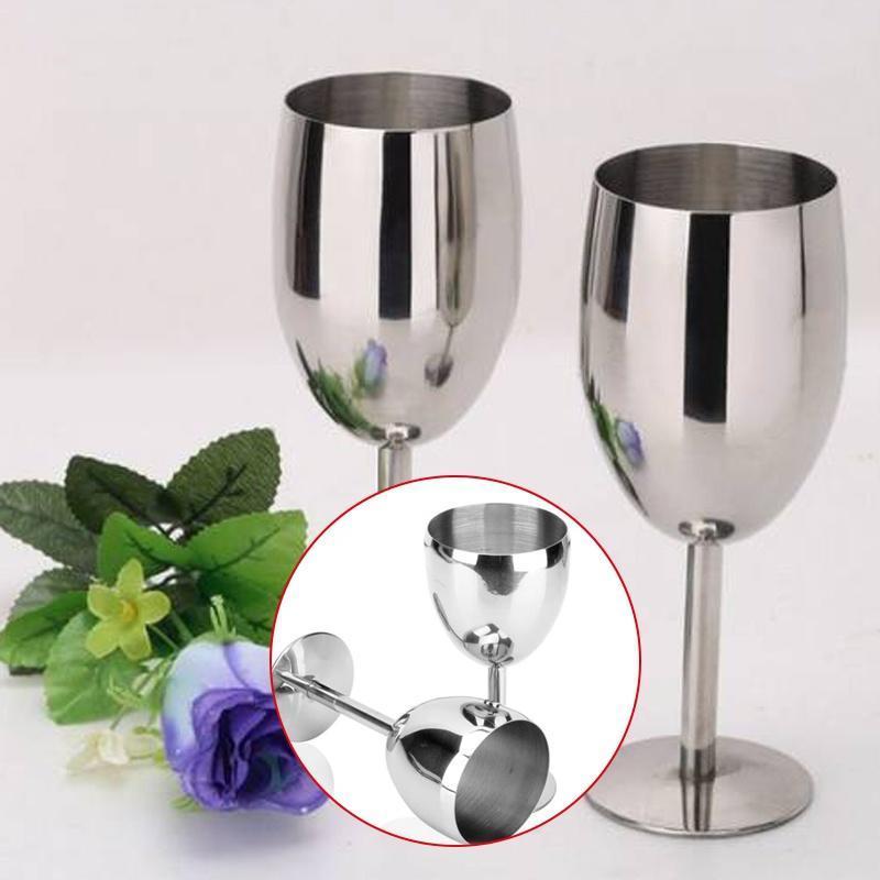 不锈钢红酒杯 不锈钢高脚杯