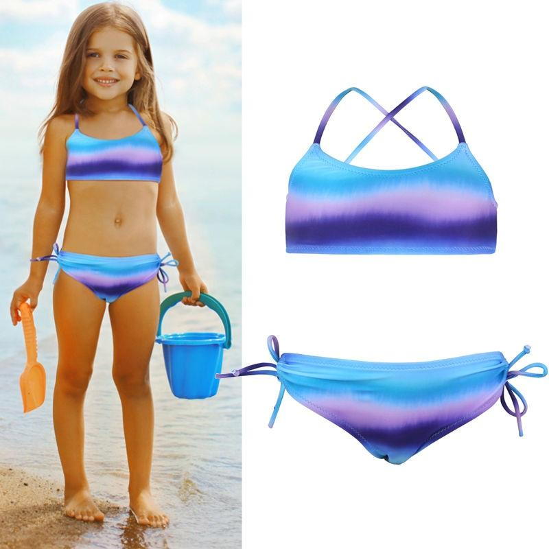 Girls One-Piece Ruffle Swimsuits,Sunflower Print Off Shoulder Swimwear,Flounce Beach Bathing Suit for Vacation 1-5 Years