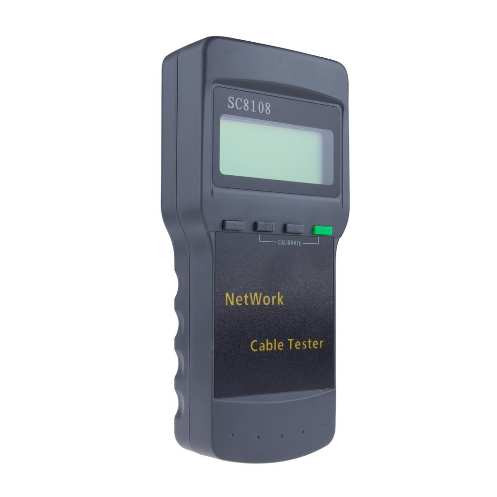 Sc8108 Rj45 Network Lan Length Telephone Cable Location Tester Meter Short Circuit Finder Locator 1 Of 9