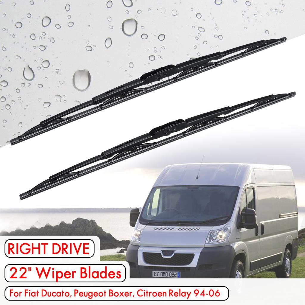 Fiat Ducato 94-06 pair of Windscreen Wiper Blades New Wipers