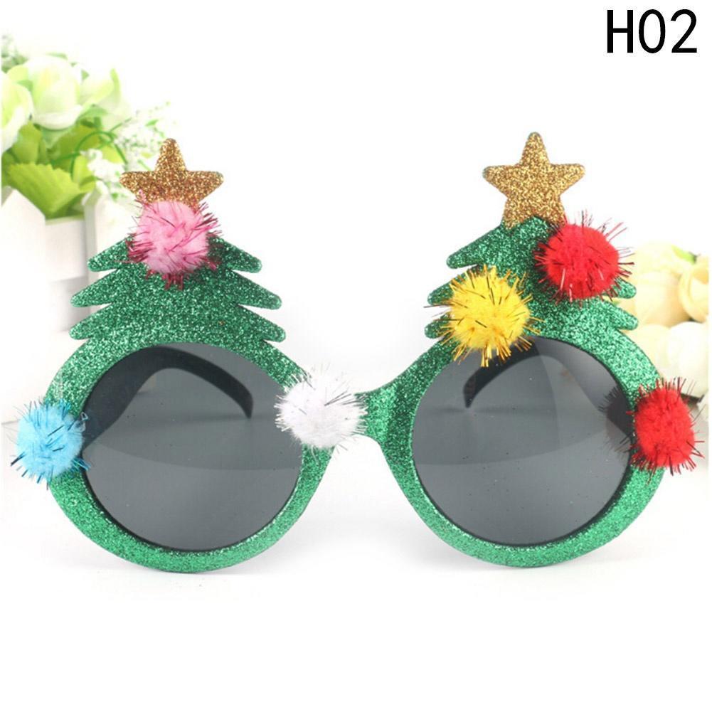 198de72321b Glitter Christmas Tree Sunglasses Glasses Fancy Dress Party Xmas Decor Gift- buy at a low prices on Joom e-commerce platform