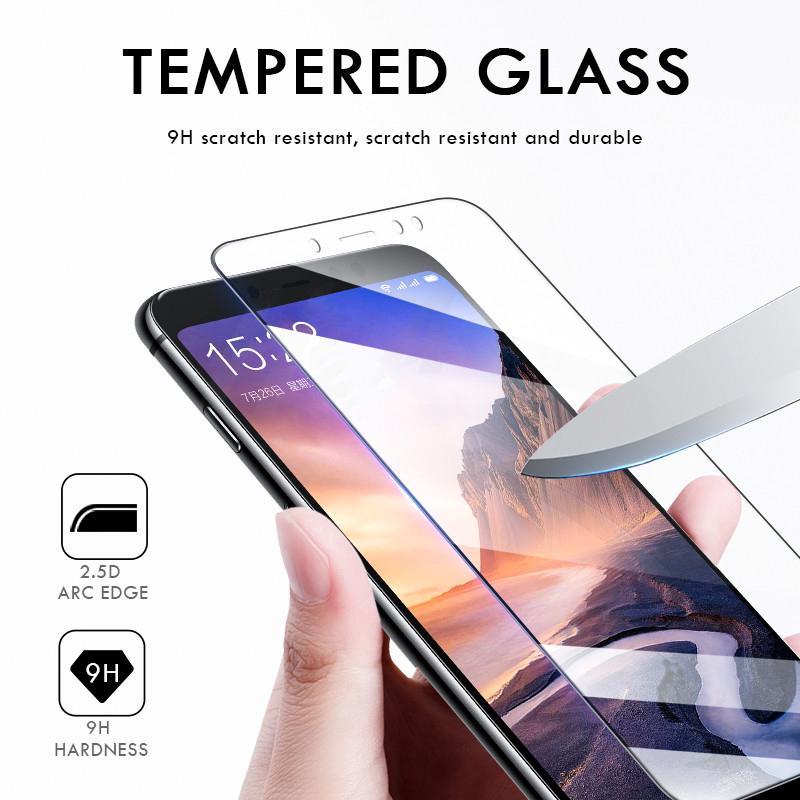Закаленное стекло для iPhone/Samsung/Huawei/Xiaomi/Redmi предотвращению царапин экран протектор экрана фильм фото