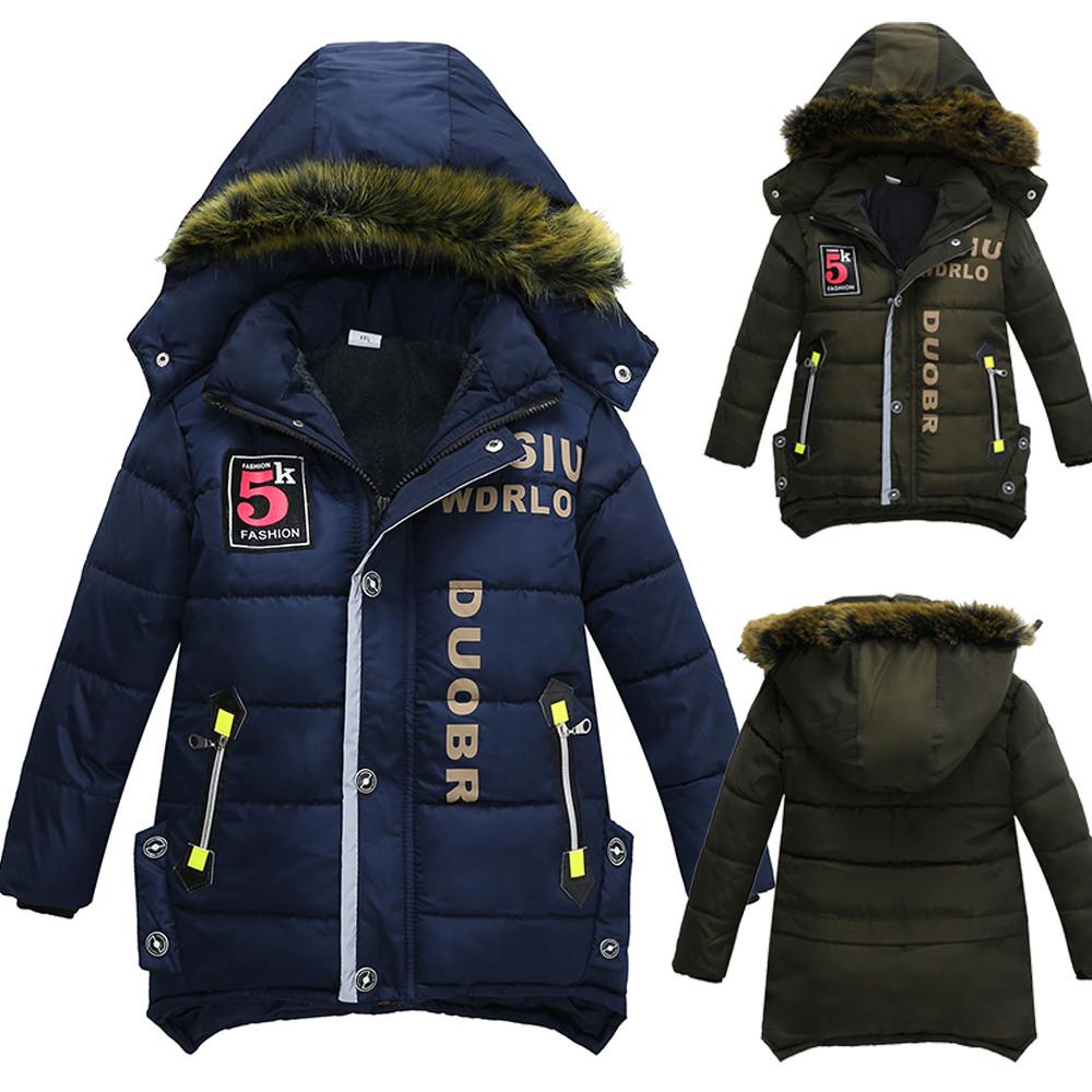 LzCxZDKN boya Kids Warm Hooded Outerwear Coat for Girls Coat Children Clothes