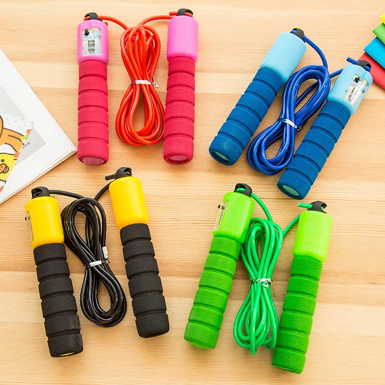Adjustable Auto Counter Jump Rope Bearing Speed Skipping Gym Fitness