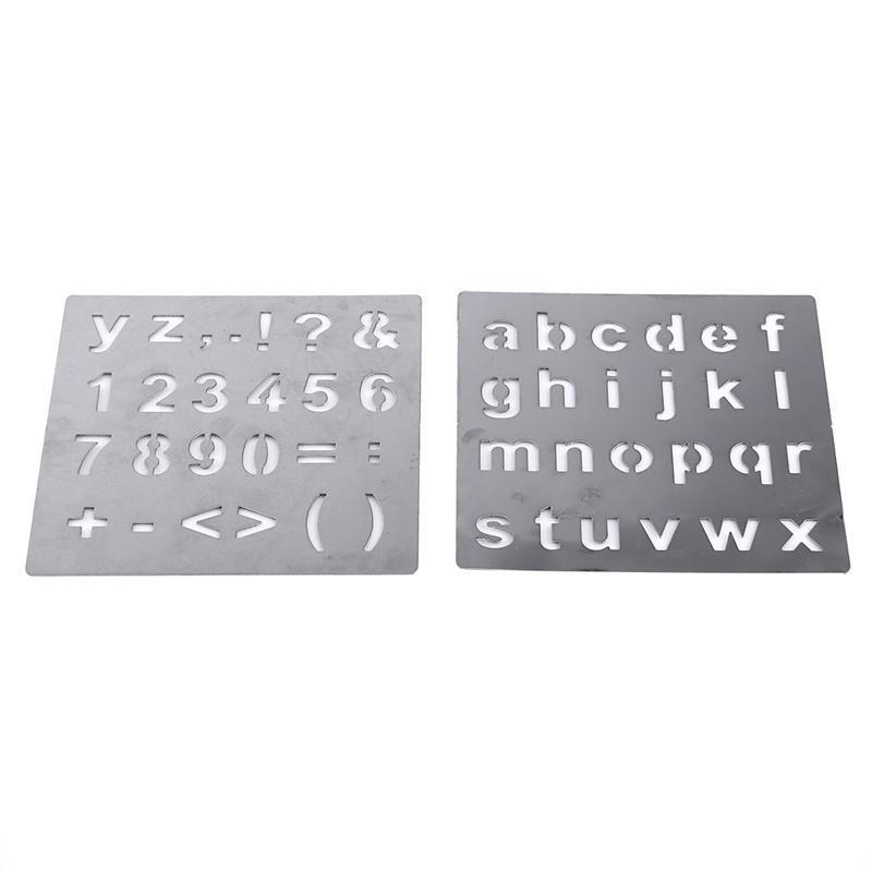 Brandmalerei Holzofen Alphabet Zahlen Symbole Briefmarken ...