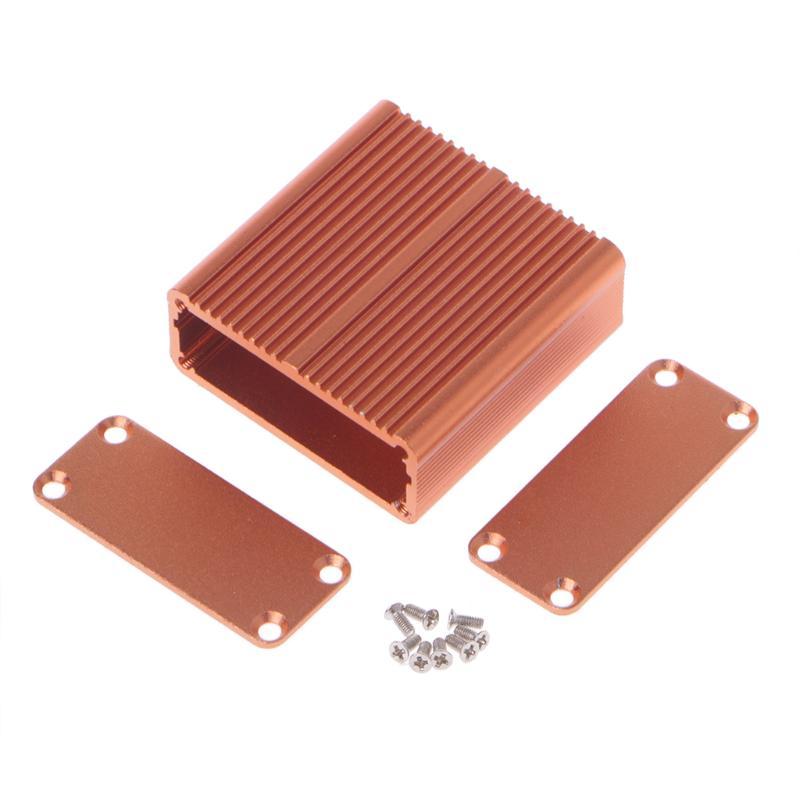 Power Amplifier Aluminum Box Project Protective Box Enclosure Electronic DIY Circuit Board Aluminum Amplifier Instrument Box for Lectronic Products