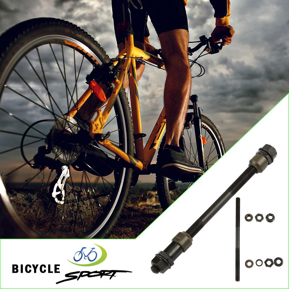 MTB Mountain Road Bike 10mm Carbon Steel Rear Axle Hub Shaft Bicycle Parts N#S7