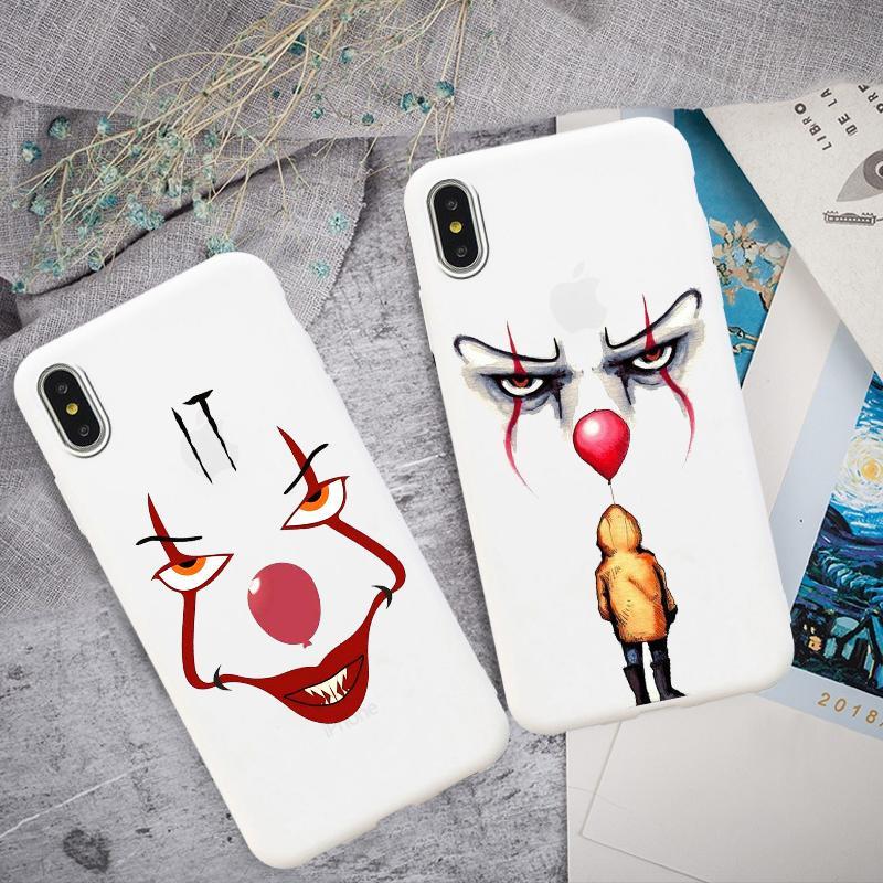 Замок Джокер Мягкий мобильный телефон Дело для iPhone 6 7 Плюс