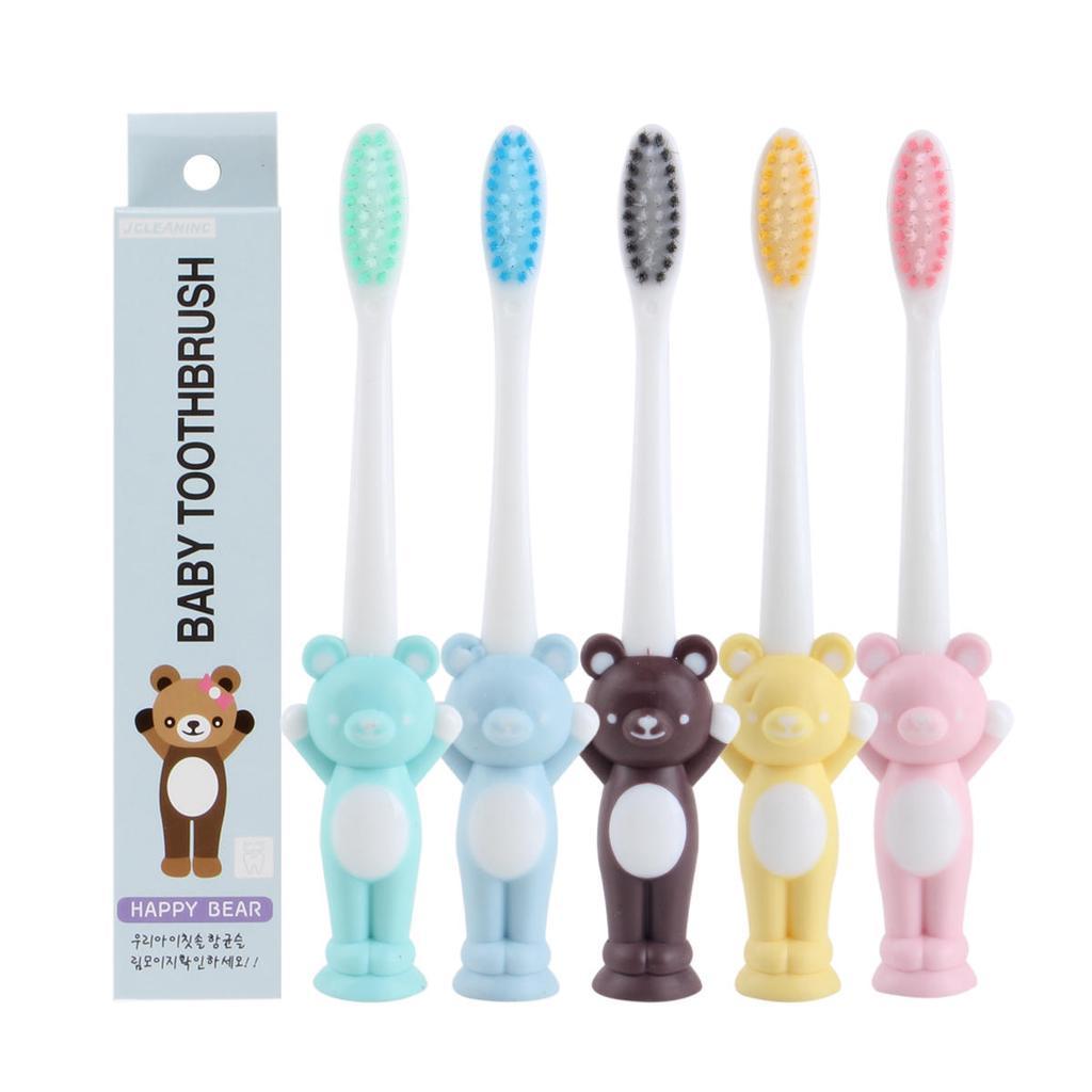 mordedor seguro tama/ño cuidado dental flexible cepillo de dientes entrenamiento beb/é reci/én nacido azul Profesional de silicona suave para beb/és dientes cepillo dental