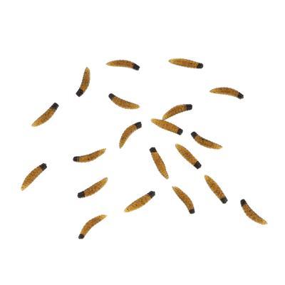 150Pcs Earthworm Soft Sea Fishing Lure Artificial Bait Bionic Worm