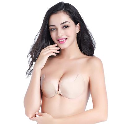 7e7dcac6a91b1 Silicone Push Up Invisible Bra Self Adhesive Backless Bralette Lift  Bralette Plus Size Seamless Bras