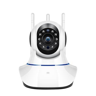 WiFi IP Camera 1080P HD Pan Tilt Indoor Wireless Camera Night Vision 2.0MP Network Camera Two Way Audio Security Surveillance 3 Antennas Wireless