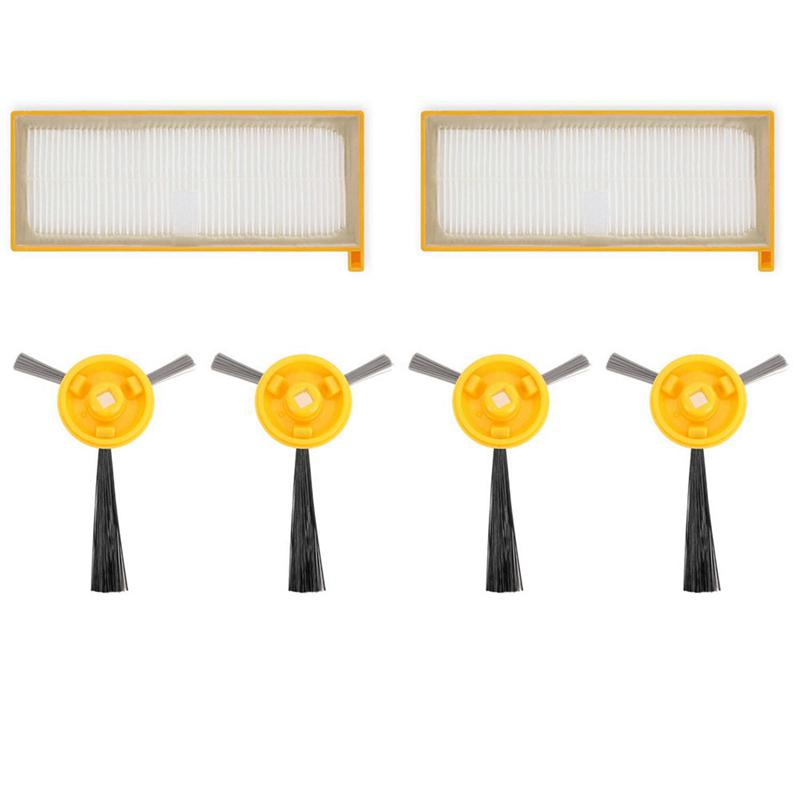 Replacement Filter Side Brush For Shark Ion Rv700 Rv720 Rv750 Rv750c Rv755 Robot Vacuum Cleaner Filters Parts Accessories Home Appliance Parts