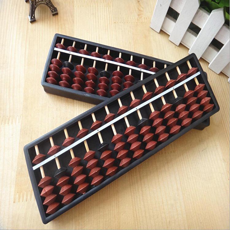 Estilo japonés ábaco marco grano calculadora antigua clásico cabrito ...
