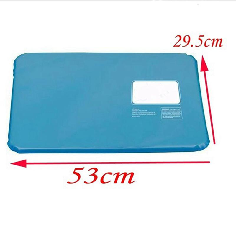 Cooling Insert Pad Mat Sleeping Bed Therapy Relax Muscle Chillow Ice Gel Pillow