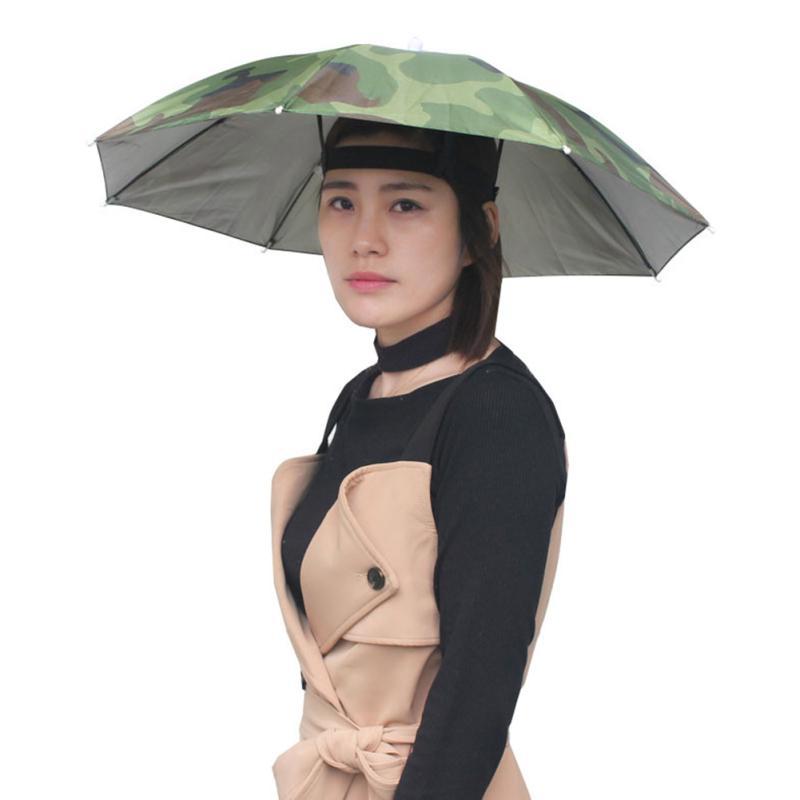 Unbrella Hat Sun Cap For Fishing Camping Hiking Dress Foldable Covers Sun HATS