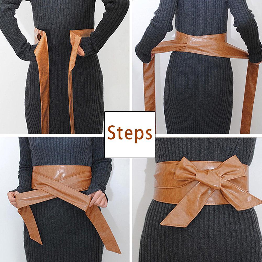 1шт универсальный супер широкий декоративные мягкие талии пояс лук одежда Аксессуары – купить по низким ценам в интернет-магазине Joom
