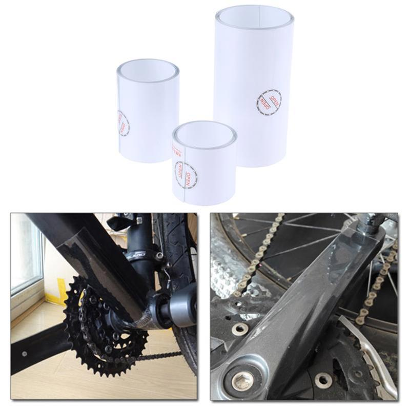 PVC Protection Tape Bike Bicycle Helicopter Frame Transparent Protective Film