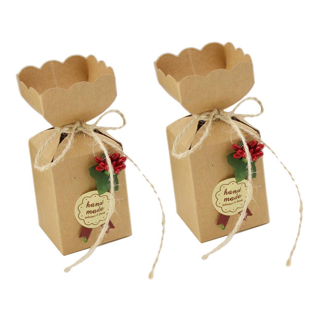 50pcs 100pcs Gift Box-Candy Box-Favor Boxes-Birthday Boxes-Birthday Boxes-Packing Boxes,Cookies Boxes-Wedding Favors Boxes