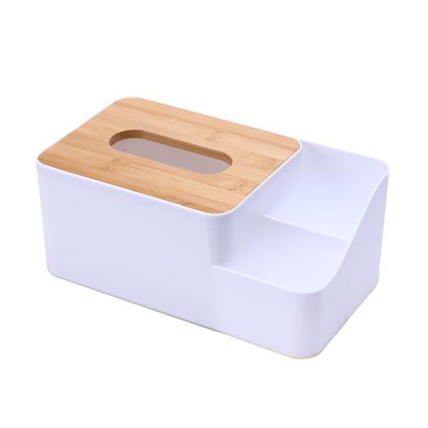 Fan Shaped Desktop Car Tissue Paper Cover Box Napkin Holder Bathroom Bedroom