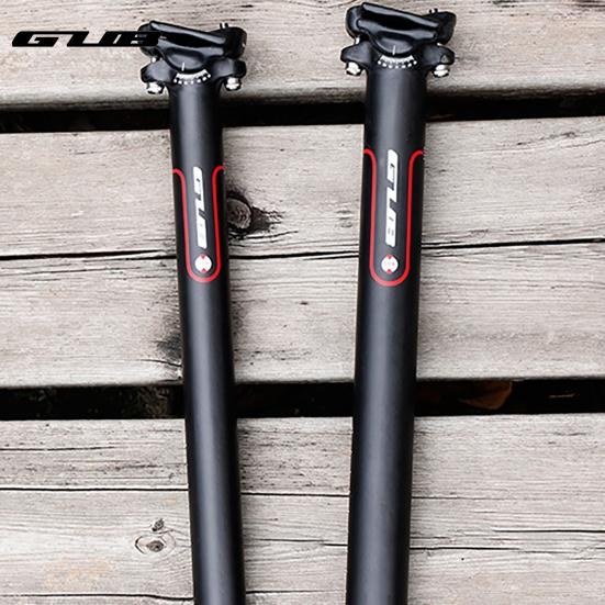 Details about  /MTB Road Bike Seatpost Full Carbon Fibre 3K Bicycle Saddle Seat Post Seat Tube