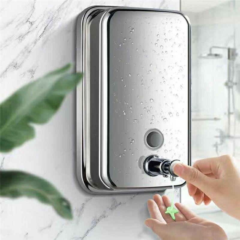 Bathroom Stainless Steel Wall, Soap Dispensers For Bathrooms