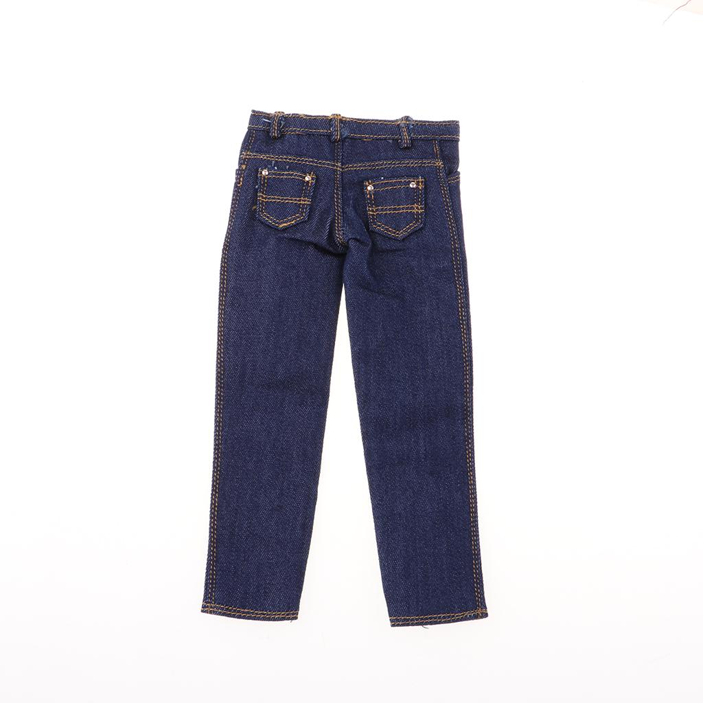 """1//6 Scale Male Trousers Thick Pants For 12/"""" Action Figure Body"""
