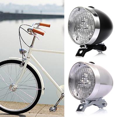 6 CREE LED Retro Bicycle Bike Accessory Front Light Head Light Torch /& Bracket