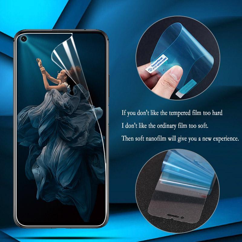 Нано Взрыв-Доказательство экран протектор фильм для Huawei Честь 7C 7A Pro Samsung A50 A30 A10 A20 Xiaomi Redmi Go Note7 Обложка экрана – купить по низким ценам в интернет-магазине Joom